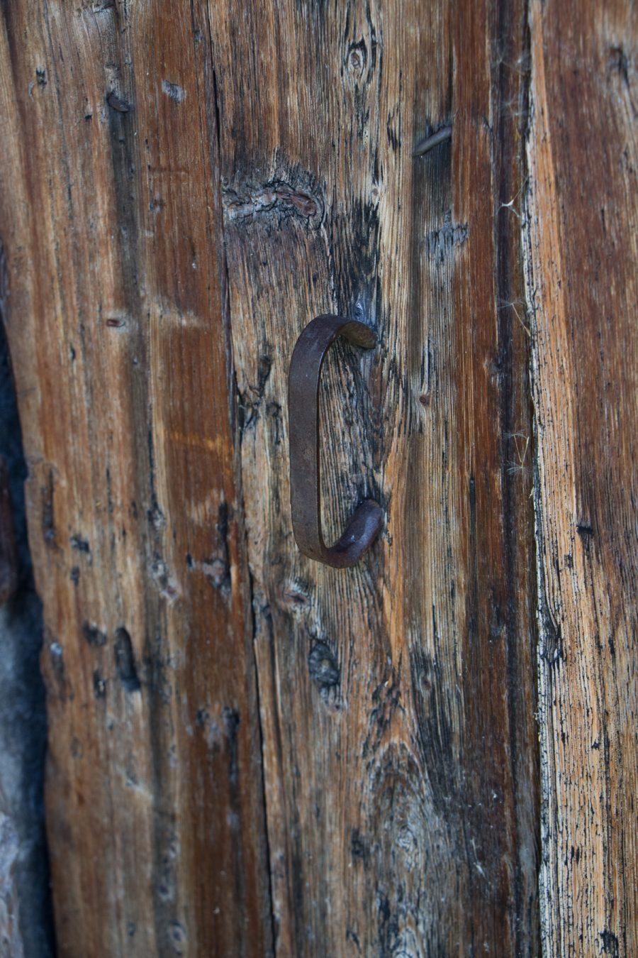Old door, 2018